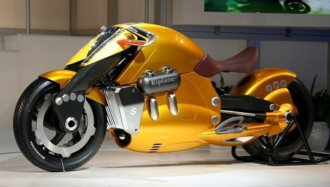Top 10 Coolest Concept Motorbikes for Future! | Technology | Scoop.it