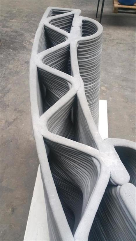 French startup XtreeE is developing direct 3D printing for construction processes | 3D Printing and Fabbing | Scoop.it