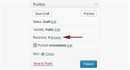 Undo Changes in Wordpress with Post Revisions | Online Marketing and Web Services | Scoop.it