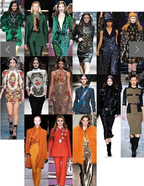 Les 20 tendances mode de l'automne-hiver 2012-2013 | mode | Scoop.it
