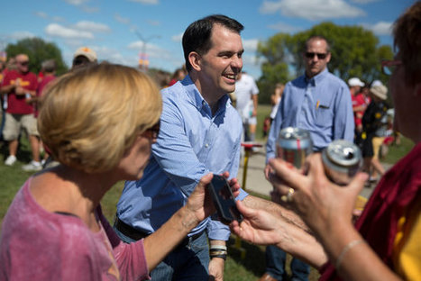 Scott Walker Details Plan to Curb the Power of Labor Unions | Current Political Climate in US | Scoop.it