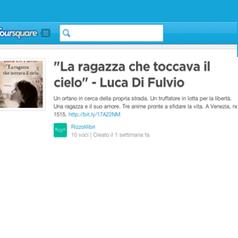 L'importanza della cross-medialità:il caso Rizzoli-Foursquare | Social media culture | Scoop.it