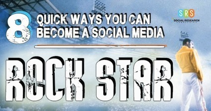 8 Quick Ways You Can Become a Social Media Rock Star | Web Design | Scoop.it