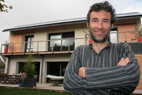 [Auto-construction] Gilles a bâti sa maison bioclimatique tout seul | Le flux d'Infogreen.lu | Scoop.it