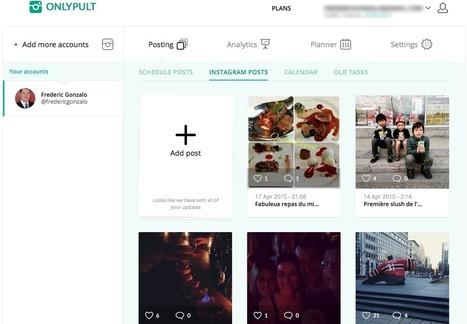 5 outils pour mieux gérer Instagram | Animation Numérique de Territoire | Scoop.it