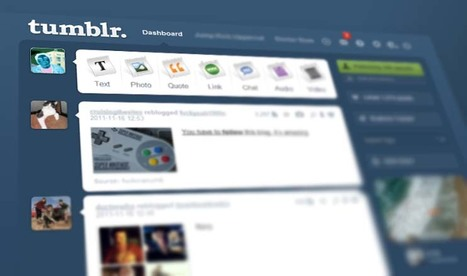 Snapshot: Tumblr's rise in the social blogging space   Social media culture   Scoop.it