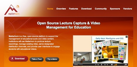 Opencast Matterhorn - OpenSource Lecture Capture & Video for Education | ICT Resources for Teachers | Scoop.it