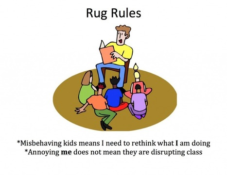 Rug Rules in Kindergarten | Action Research | Scoop.it