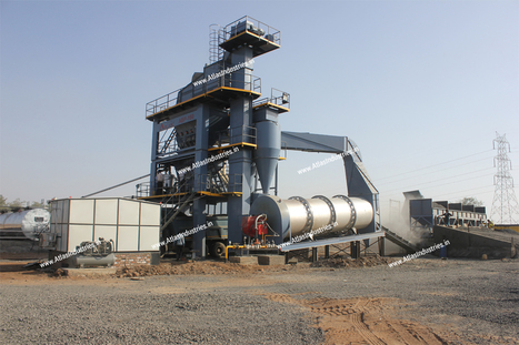 Case Study - Asphalt Batch Plant Installed Near Ahmedabad, India | Road & Civil Construction Machinery | Scoop.it