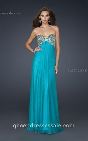 Open Back Long Strapless Beaded Bodice Prom Dresses 2014 Blue [Blue Prom Dresses] - $177.00 : Wholesale Prom Dresses and Homecoming Dresses for You | Prom Dresses & Homecoming Dresses | Scoop.it