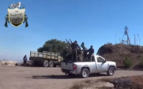 Syrian Rebels Seize Russian Spy Station Near Israeli Border | enjoy yourself | Scoop.it