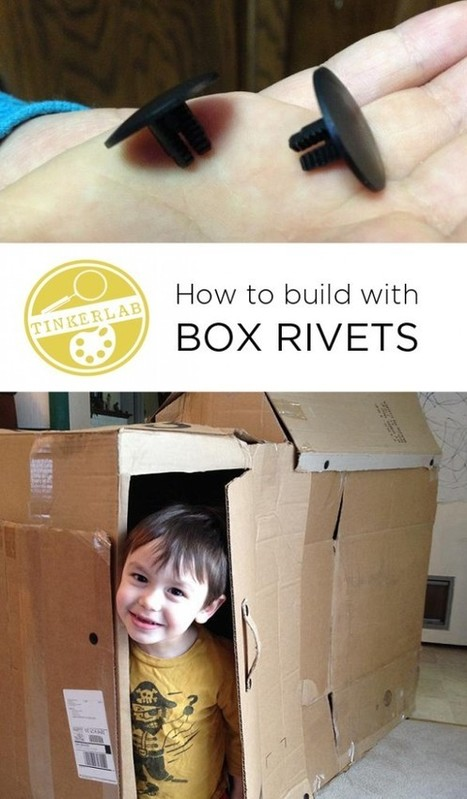 How to Build with Box Rivets - TinkerLab | iPads in Education | Scoop.it