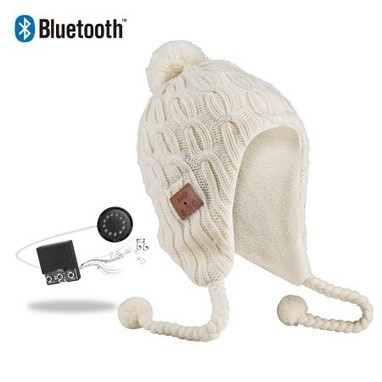 Vibejam twister knitting Peruvian Bluetooth music beanie hat   Vibejam wireless and portable sound solutions   Scoop.it