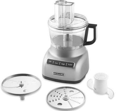 Kitchenaid Kfp0711cu 7 Cup Food Processor Kfp0711 Beautiful Countour Silver New Perfect Product Fast Shipping | Cheap Food Processors | food Processors | Scoop.it