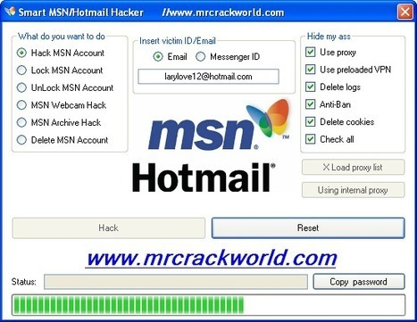 How To Hack MSN Hotmail - Friendly Method | Learn How to Hack | www.MrCrackWorld.Com | All Best Hackers | Scoop.it