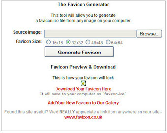 How to make a favicon for your blog | Blogging tips | Scoop.it