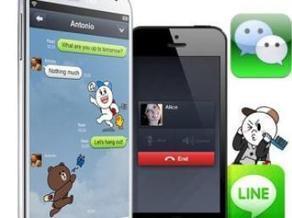 WeChat et Line: les réseaux sociaux asiatiques à la conquête de l'Europe | Social Media - Web 2.0 L'Information | Scoop.it