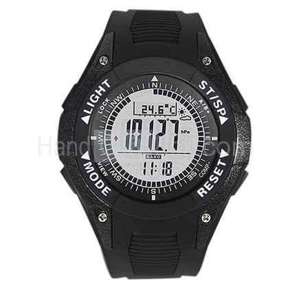 Do You Like This Simple Fashion Barometer Watch with Alarm, Countdown, Stopwatch, Weather Forecast, Compass? | watch | Scoop.it