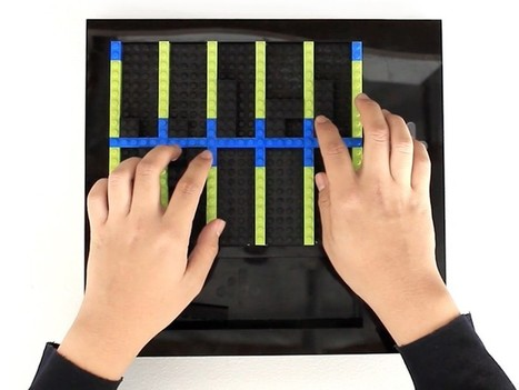 LEGO Music by Esteban Cardona uses plastic toy bricks to construct a DIY keyboard | D_sign | Scoop.it