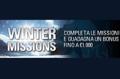 Sei pronto per le Winter Missions di PokerStars? - PokerNews.com | Poker & Tv | Scoop.it