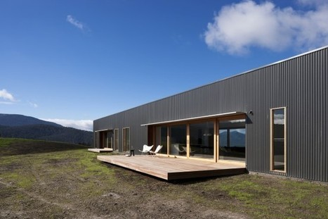 Contemporary Farmhouse in Victoria: Designed for flexibility & sustainability | sustainable architecture | Scoop.it
