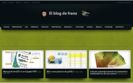 5 Excelentes Sites em Espanhol sobre Geotecnologias | Anderson Medeiros | Inteligencia Geográfica | Scoop.it