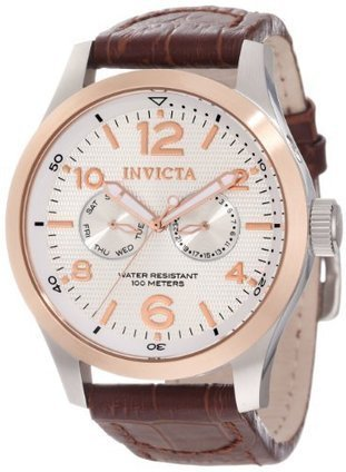 (1)  13010 Invicta Mens 13010 I-Force Silver Textured Dial Brown Leather Watch Invicta | Men's Watches for Everyday Discount Prices | Scoop.it