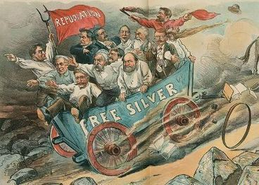"Babies of Silverites Named ""Silver"" in 1896 