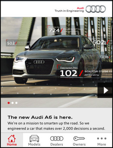 Audi launches its own augmented reality platform - QR Code Press – 100% UX | Marketing & Technology | Scoop.it
