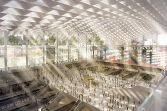 [New York City Planning Commission] Thinking Big: Four Visions of a New Penn Station | The Architecture of the City | Scoop.it