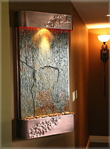 Exalted Fountains | High End Water Fountains | The Beauty Of Indoor Wall Fountains | Scoop.it