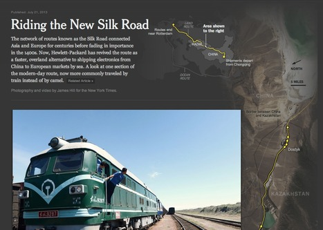 Riding the New Silk Road | Transmedia | Scoop.it