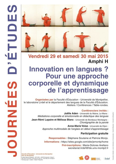 Innovation en langues : JE Montpellier, mai 2015 | TELT | Scoop.it