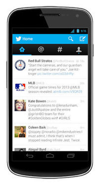Twitter revamp brings native experience to Android, expanded Card content   Mobile Technology   Scoop.it