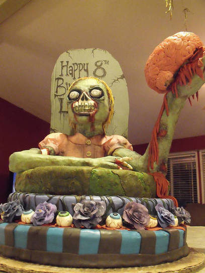 10 Nerdy Birthday Cakes That Almost Don't Look Real | Strange days indeed... | Scoop.it