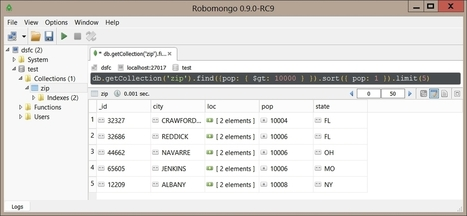 Installation de MongoDB sur Windows | Informatique | Scoop.it
