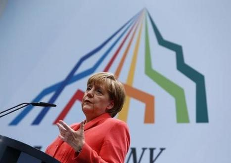 Merkel urges Germans to put aside fear of big data | Information Science | Scoop.it