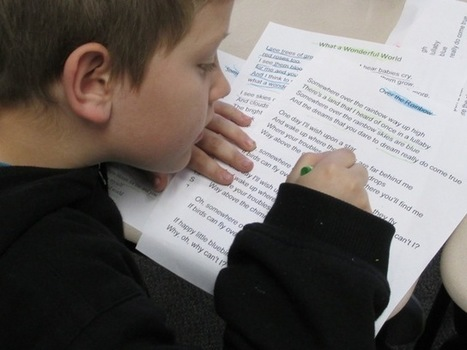 Using Music to Improve Reading: Close Up and Fluent!   Scholastic.com   Fluency   Scoop.it