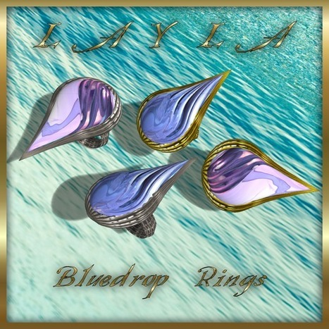 Bluedrop Ring by LAYLA | Teleport Hub | imvu and second life | Scoop.it