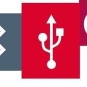 L'histoire des symboles high-tech célèbres | À la conquête de l'Hexagone | Scoop.it
