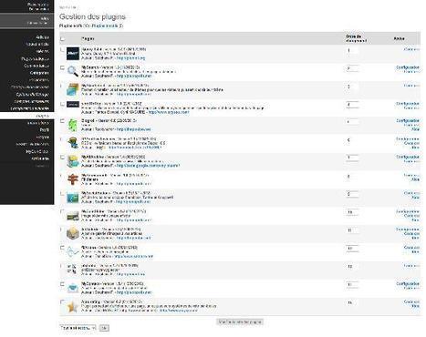 Blog ou Site : les plugins indispensables pour PluXml   FrontEnd   Scoop.it