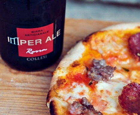 Pizza Dough Made with Artisan Beer from Le Marche | Hideaway Le Marche | Scoop.it