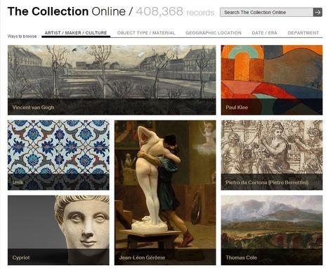Más de 408.368 imágenes gratuitas y online del Museo Metropolitano de Arte de Nueva York ~ #PedaLógica por @alaznegonzalez | Pedalogica: educación y TIC | Scoop.it