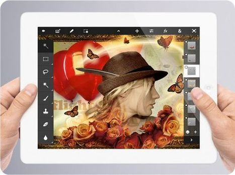 Adobe Photoshop Touch Updated To Support iPad Retina Display And More | Adobe Lightroom & Photoshop | Scoop.it