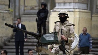 Six soldiers shot dead in Cairo | It Comes Undone-Think About It | Scoop.it