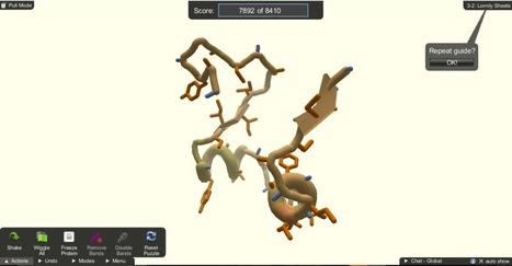 Comment un jeu vidéo veut aider la science à découvrir des protéines - Sciences - Numerama | Microbiologie, Hygiène et Sécurité des aliments | Scoop.it