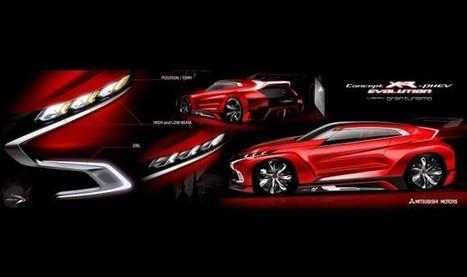 2014 Mitsubishi Concept XR-PHEV Evolution Vision Gran Turismo | CarsPiece | Scoop.it