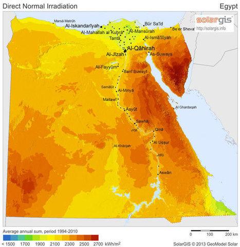 How Solar Energy Can Solve Egypt's Electricity Crisis   Dislearning Desapprentissage Desaprendizaje   Scoop.it