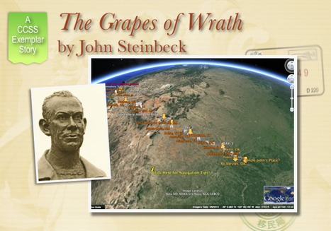 The Grapes of Wrath by John Steinbeck UPDATED | Google Lit Trips: Reading About Reading | Scoop.it