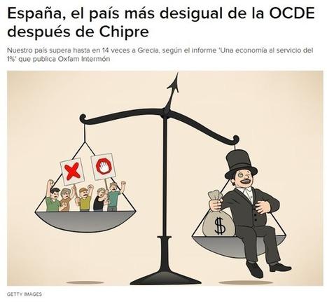 CNA: Según Intermón 17 de las 35 empresas del IBEX no paga impuestos en España, el país más desigual de la OCDE   La R-Evolución de ARMAK   Scoop.it